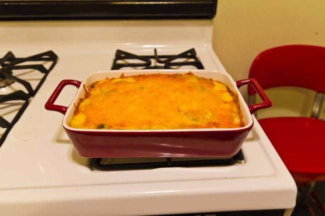 Chicken Broccoli Casserole is classic Midwestern cooking
