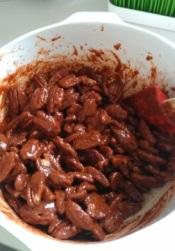 Stir in nuts